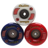 Cruise 62 Roller Skate Wheels with Bearings
