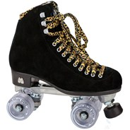 Panther Quad Roller Skates - Black