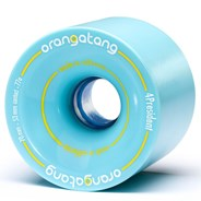 4President Longboard Wheels - Blue