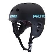 Sky Brown Full Cut Certified Skate Helmet - Black
