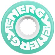 Energy 57mm 78a Roller Skate Wheels - Aqua