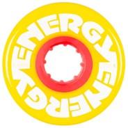 Energy 57mm 78a Roller Skate Wheels - Yellow