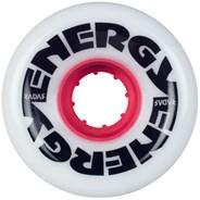 Energy 62 - 62mm/78a Roller Skate Wheels - Pure White