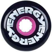 Energy 65 - 65mm/78a Roller Skate Wheels - Black