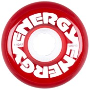 Energy 65 - 65mm/78a Roller Skate Wheels - Clear Red
