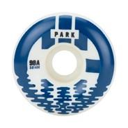 CIB Park 58mm White/Blue Aggressive Quad Roller Skate Wheels