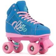 Lumina Quad Roller Skates - Blue/Pink