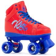 Lumina Quad Roller Skates - Red/Blue