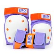 RIO600 Ramp Triple Pad Set - Purple/Orange
