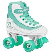 Firestar V2.0 White/Mint Quad Roller Skates