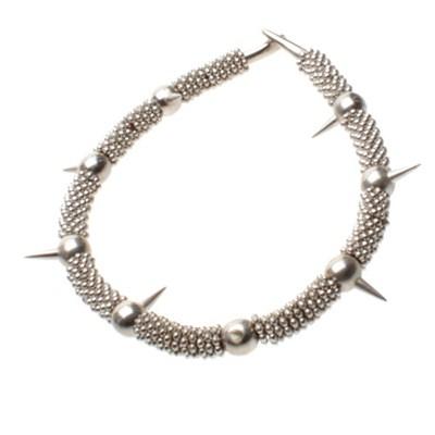 Huge Casting Spike Necklace