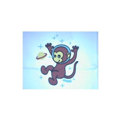 Space Monkey Raglan T