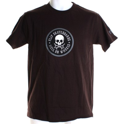 Hell on Wheels S/S T-Shirt - Brown