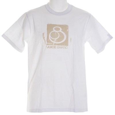 Block Print S/S T-Shirt - White