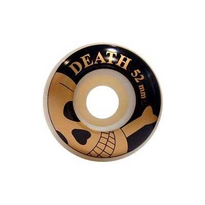 Gold Skulls Skateboard Wheels - 52mm