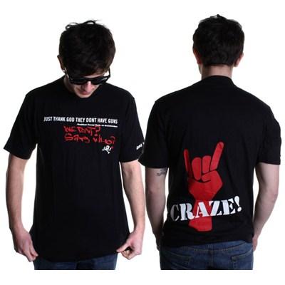 Guns and Craze S/S T-Shirt - Black