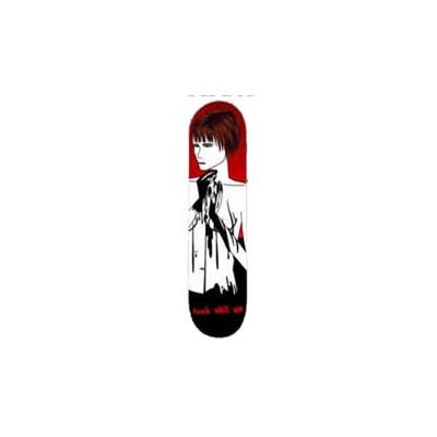 Black Gold Nude Skateboard Deck