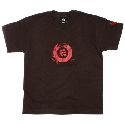Stamp Youths S/S T-Shirt - Dark Chocolate