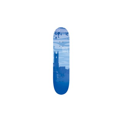 Ricky Oloya Cityscape Night Skateboard Deck