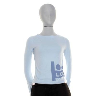Lazy Lady Flare L/S T-Shirt - Sky Blue