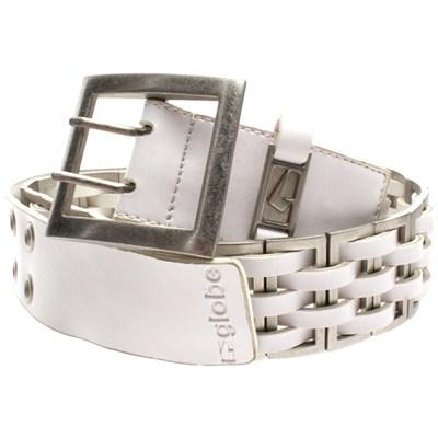 Reactor Leather Belt - White