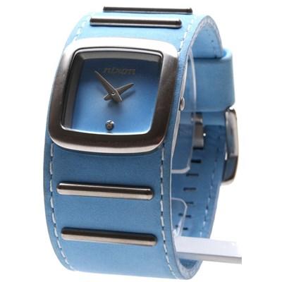 The Duchess Watch - Light Blue Suede - SALE - 50% Off