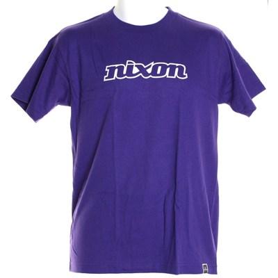 Nixon S/S T-Shirt - Purple