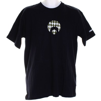Argyle S/S T-Shirt - Navy