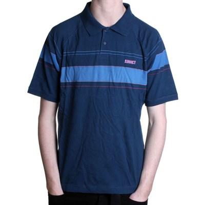 Duo Stripe S/S Polo Shirt
