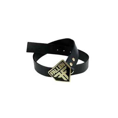 Insignia Leather Belt - Black
