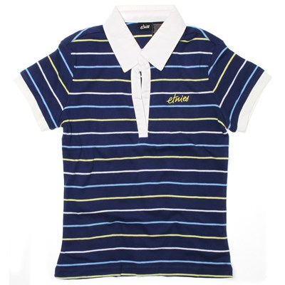 Speedster Custom Knit Polo Shirt - Navy