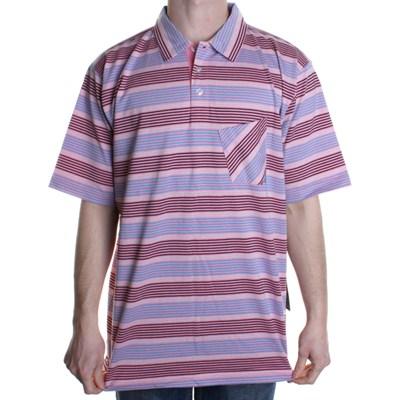 Rad Knit S/S Polo Shirt - Pink