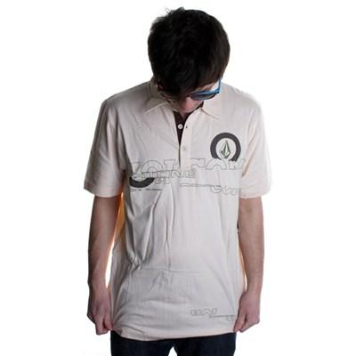 Fraction S/S Polo Shirt - Cream