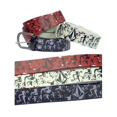 Hot Lips Leather Belt