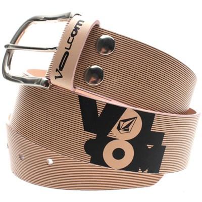 Twice Belly Leather Belt - Rose/Black