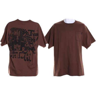 Dr Tee Pocket S/S T-Shirt - Brown