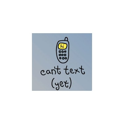 Can't Text Yet Tee