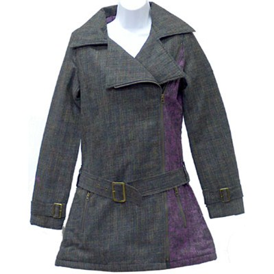 Zipped with a Spin Girls Jacket