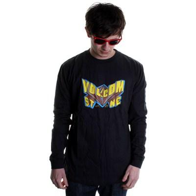 Super V L/S T-Shirt - Black