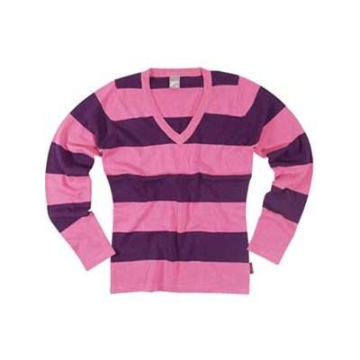 V-Neck Fine Knit Sweater