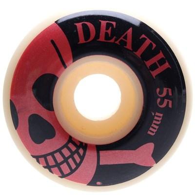 Red Skulls Skateboard Wheels - 55mm