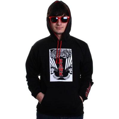 Ocean Pullover Youths Hoody - Black