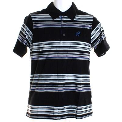 Distinctive S/S Polo Shirt - Black