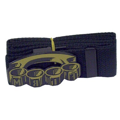Knuckles Web Belt
