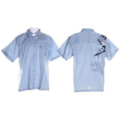 Custom S/S Shirt - Ice Blue
