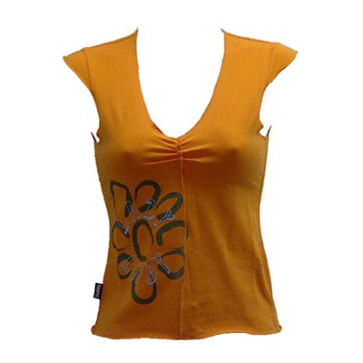 Flower Ripped Vest