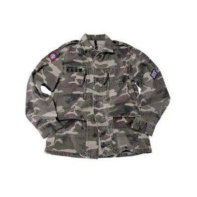 Reynolds Camo Army Jacket