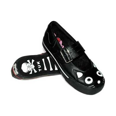 Mary Jane Kitty Black Girls Shoe