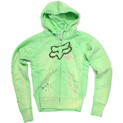 Rattled Splatter Girls Zip Hoody