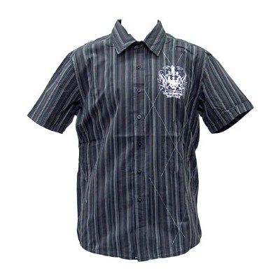Stripe Argvark S/S Shirt - Black